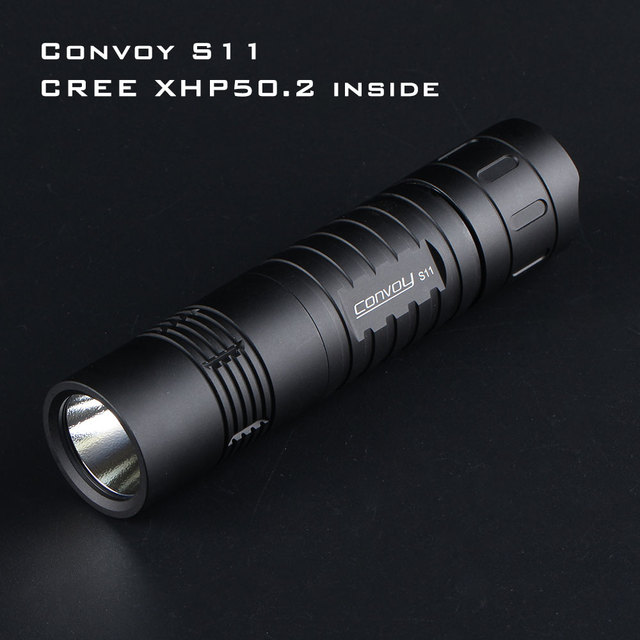 $  Black Convoy S11 with XHP50.2 / SST40 LED