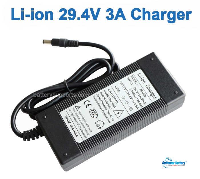 Su power Li-Ion Li-Po 7 S 25,2 V 25,9 V 24 V 29,4 V 3A литиевый Li-Poly настенный разъем для батареи зарядное устройство авто-стоп AC DC блок питания