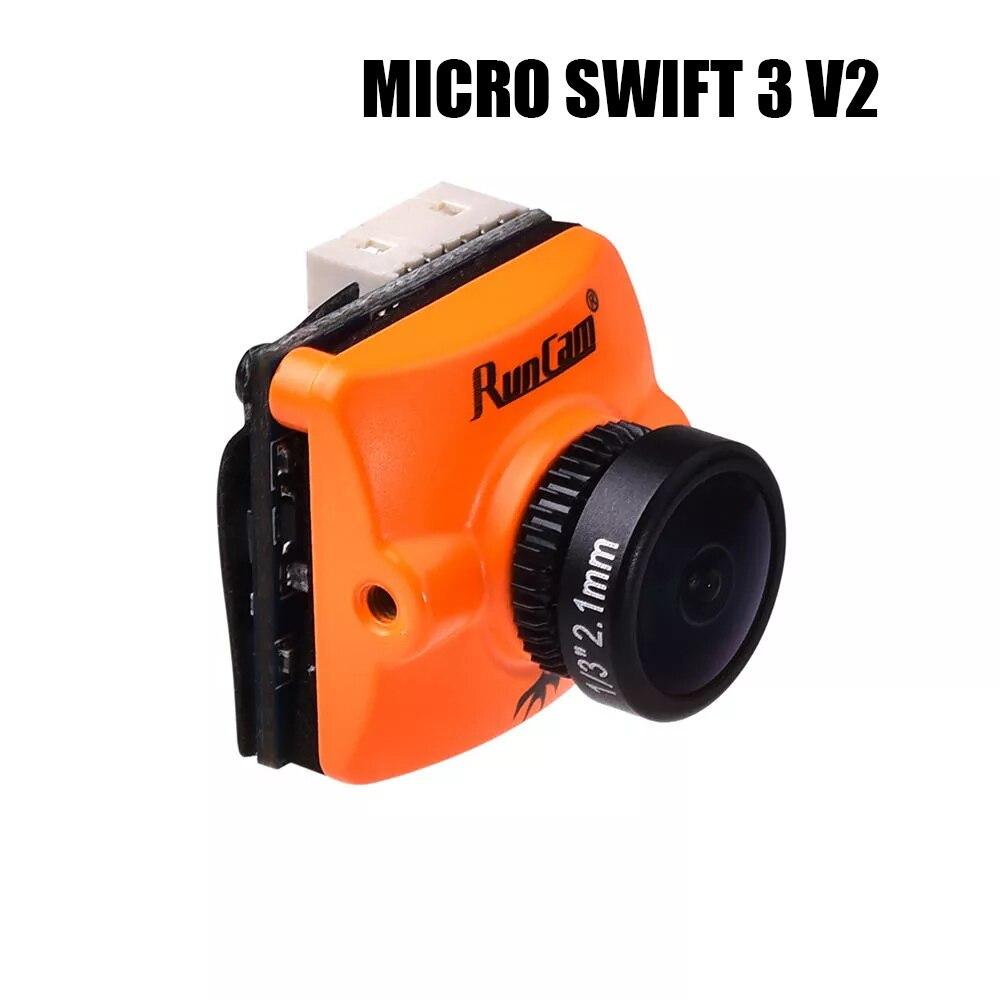 Runcam Micro Swift 3 V2 4:3 600TVL CCD Mini FPV Kamera Joystick/UART Steuerung Schaltbar OSD Konfiguration FOV 145-in Teile & Zubehör aus Spielzeug und Hobbys bei AliExpress - 11.11_Doppel-11Tag der Singles 1