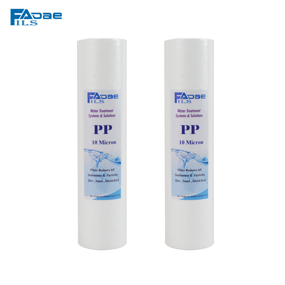 Water Purifier prefilter ,10X2.5,10 Micron Melt Blown Polypropylene Filter Cartridge -2 PACK water purifier prefilter 10x2 5 10 micron melt blown polypropylene filter cartridge 2 pack