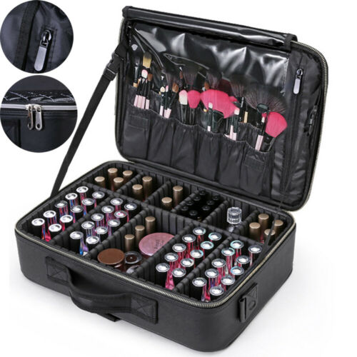 Jewelry-Case-Bag Vanity-Case Beauty-Box Cosmetic Nail Make-Up-Rose Professional Large-Capacity
