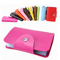 12 slot credit card wallet 8 colors women men bank card bag black card Case ID holders candy colors porte carte credit PY018