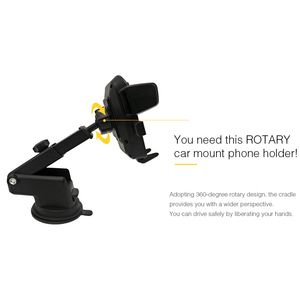 Image 4 - Universal Car Bracket 360 Adjustable Degrees Phone Holder Bracket Auto Mounts For Car GPS Recorder DVR Camera
