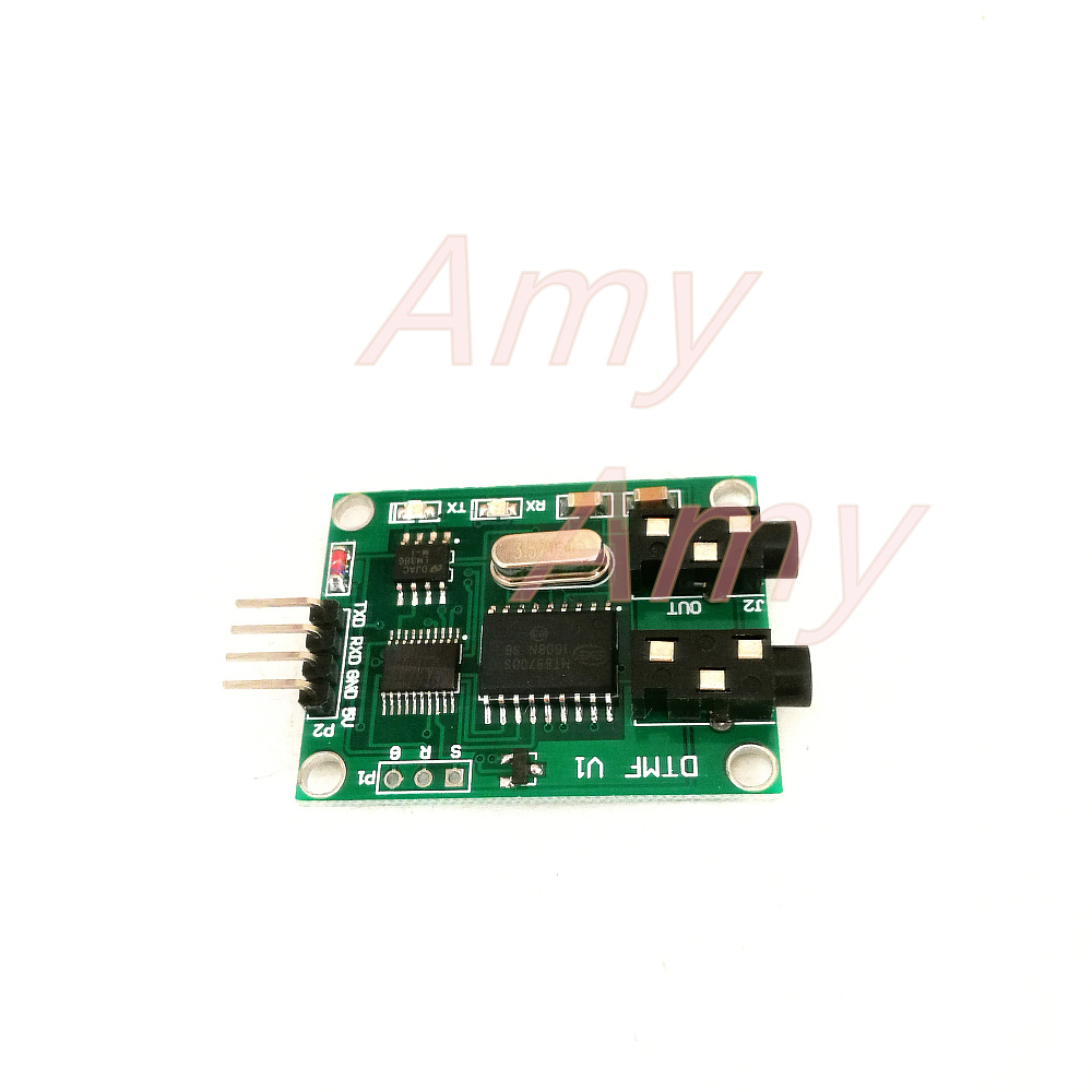 Dtmf Decoder The Encoder Tone Generator Once Receives 30 Serial Audio Circuit Data In Integrated Circuits From Electronic Components Supplies On