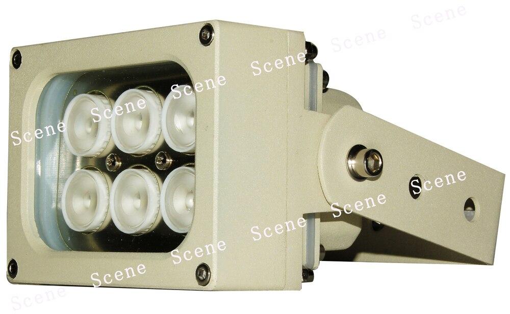 850nm 740nm 940nm 赤外線照射器、赤外線ランプ、不可視 ir 光とアルミ材 & ナイトビジョン光源