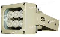 850nm 740nm 940nm 13W IR illuminator , Infrared Lamp, invisible IR light with Aluminum material & night vision light sources