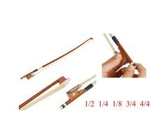 1/2 1/4 8/1 3/4 4/4 Violin Bow Fiddle Bow Arbor Materail Violin Part Accessories Wholesale Retail violin bow g01 violin bow