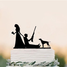 Buy wedding cake toppers hunting and get free shipping on