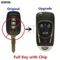 QCONTROL Upgraded Car Remote Key DIY For CHEVROLET HOLDEN OPEL VAUXHALL Captiva Antara 2006 2007 2008