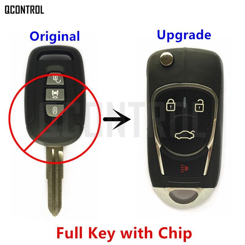 QCONTROL de Voiture Améliorée À Distance DIY Clé pour CHEVROLET/HOLDEN/OPEL/VAUXHALL Captiva Antara 2006 2007 2008 2009 2010