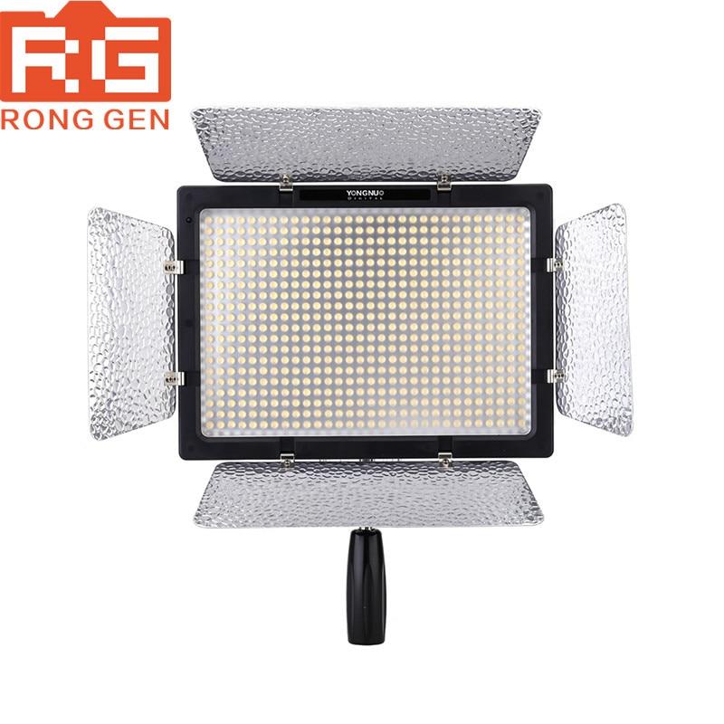 YONGNUO YN900 High CRI 95+ Wireless LED Video Light Panel,YN-900 900 Lamp Beans 7200LM 54W Led Lighting yongnuo yn900 54w 900 led 3200k 5500k adjustable video light w filters black