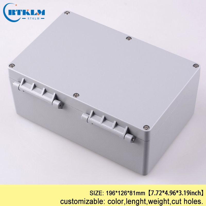 Aluminum PCB Waterproof Instrument Box Enclosure DIY Electronic Project Case