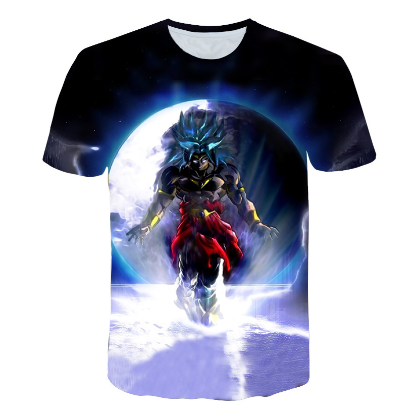 Men's 3D <font><b>T</b></font> <font><b>Shirt</b></font> <font><b>Dragon</b></font> <font><b>Ball</b></font> Z Ultra Instinct Goku Super Saiyan God Blue Vegeta Print Cartoon Summer Top <font><b>T</b></font>-<font><b>shirt</b></font> S-<font><b>5XL</b></font> image