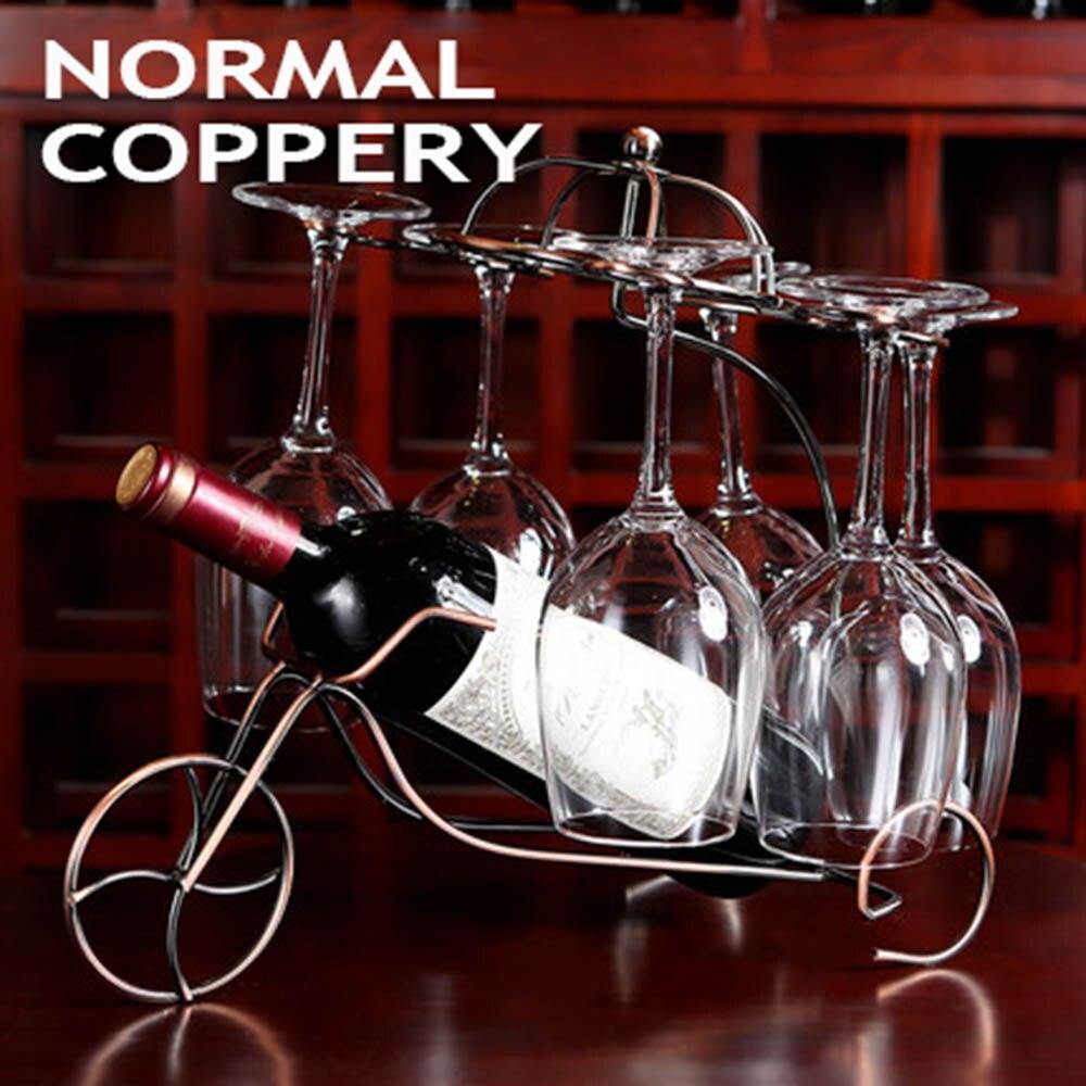Racks dekorative Mbajtësi i shisheve të verës që varen kupat me - Kuzhinë, ngrënie dhe bar - Foto 6