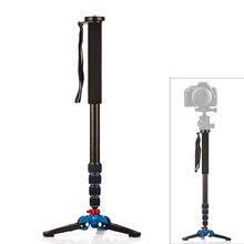 YIXIANG YIXIANG Base Trépied 1650mm Alumninum Caméra Unipod Manfrotto Flip Lock w/3 Jambes Base Trépied Pour Canon Nikon DSLR DV