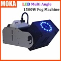 DMX Smoke Machine LED Fog Machine 1500w LED Smoke Wireless Fog Professional Fog Machine