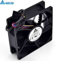 New QFR0812UH 12V 0 87A 8CM 4 Fan Speed Control For DELTA 80 80 25mm