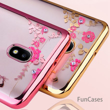 Glitter TPU Silicone cover For Samsung Galaxy J3 J7 J5 2017 Case J530 J5 Pro 2017 J330 J530 Eurasian Version soft clear coque(China)