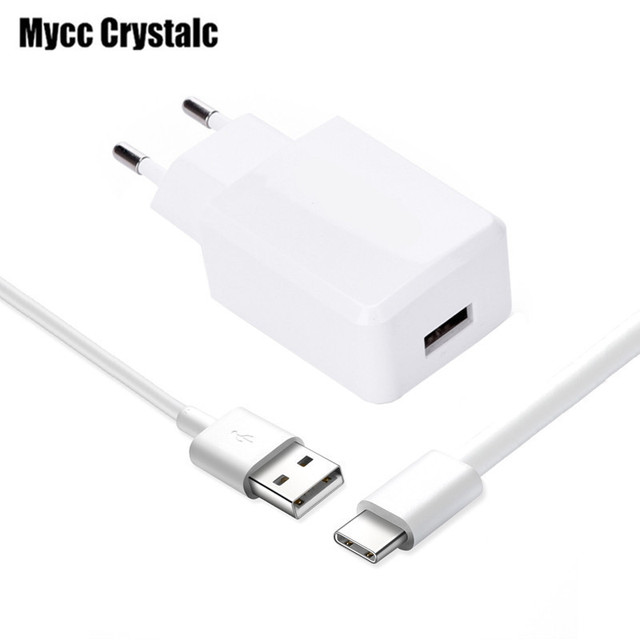 US $2 98 |USB Type C Wall Charger Adapter+ USB Type C Cable for ZTE Axon 7  7S Max V7 Max Meizu Pro 5 6 6s 7 Plus MX6 Lenovo ZUK Z1 Pro Z2-in Mobile