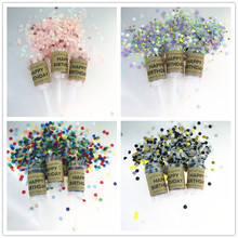 10pcs/pack Reusable Happy Birthday Party Push Up Confetti Container Poppers Suprise Supplies