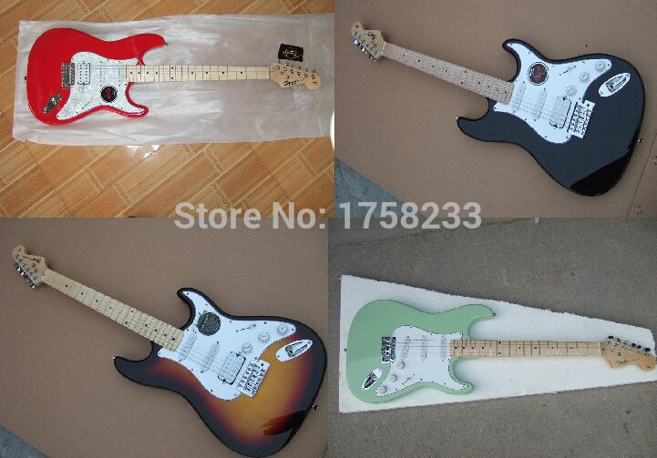 hot factory price wholesale custom body artist signature sss stratocaster electric guitar in. Black Bedroom Furniture Sets. Home Design Ideas