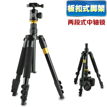 QZSD Q570 SLR camera Professional tripod panoramic head Short triangular frame portable Wholesale free shipping
