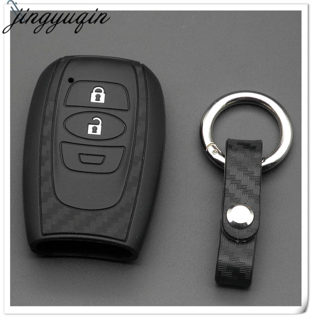 New Subaru Key Ring Impreza Xv Outback Genuine Leather Key Fob Forester