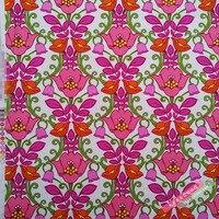 150X100 cm Rosa Blumen Weißen Hintergrund Baumwolle Stoff für Frau Taschen Kleidung Kleid Nähen Patchwork DIY-AFCK422