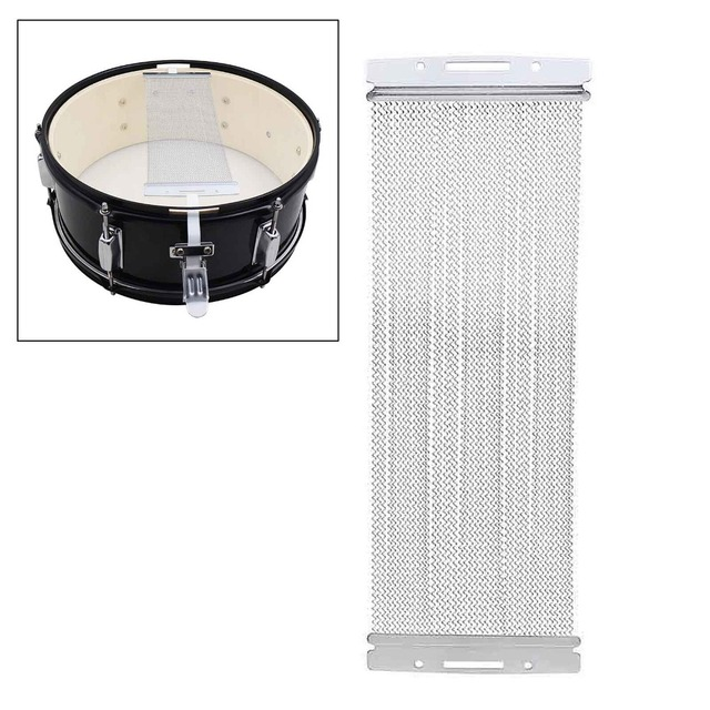 Steel Snare Wire 40 Strand for 14 Inch Snare Drum Cajon Box Drum ...