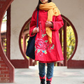 Folk Style Women Winter Jacket Great Cotton-padded Jacket Parka Women Coat Windbreaker Ethnic Traditional Chinese Clothing