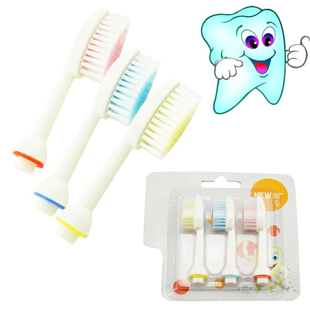 High Quality and Hot Sale100% New 3Pcs Water Tooth Brush of Dental Spa Oral Irrigator for Replacement Tooth Brush Heads