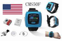 CONTEC CMS50F Wrist Pulse Oximeter, Daily overnight 24h Record, OLED PC SW, FDA