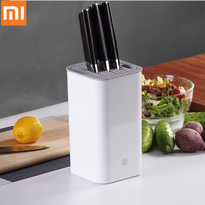 Xiaomi Mijia Huohou Kitchen Knife Holder Tool Holder Knife Block Stand Multifunctional Storage Rack Kitchen Accessories For Home