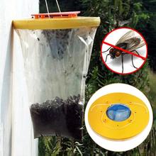 Fly Trap Drosophila Pest Catcher Control Insect Red Bug Killer Venus Wasp Ultimate Fly Catcher Insect Bug Killer Dropshipping economy fruit fly trap killer fly catcher with attractant insect fly trap pest control garden supplies