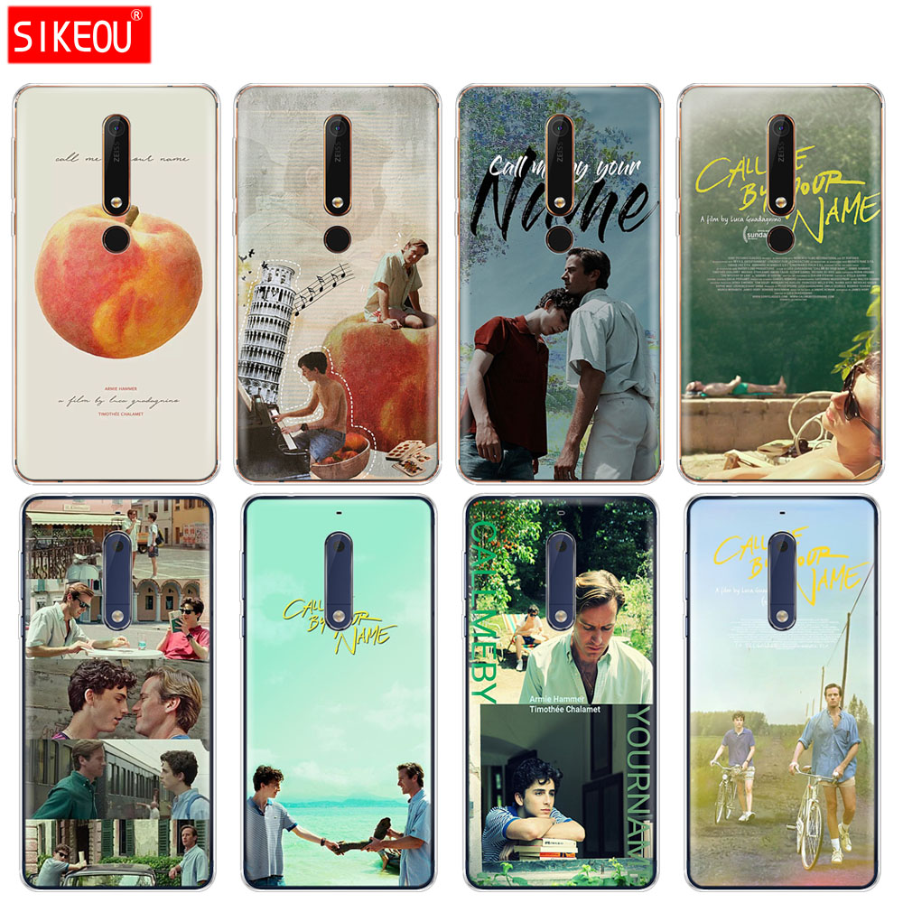 silicone <font><b>cover</b></font> phone case <font><b>for</b></font> <font><b>Nokia</b></font> 5 3 6 7 PLUS 8 9 /<font><b>Nokia</b></font> 6.1 5.1 3.1 <font><b>2.1</b></font> 6 <font><b>2018</b></font> Call Me by Your Name Colorful image