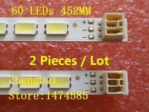 Image 1 - 10 أجزاء/وحدة LED شريط إضاءة خلفي لشارب LC 40LE511 40BL702B LE4050b LE4052A LE4050 LE4052 LJ64 03567A LJ64 03029A LTA400HM08