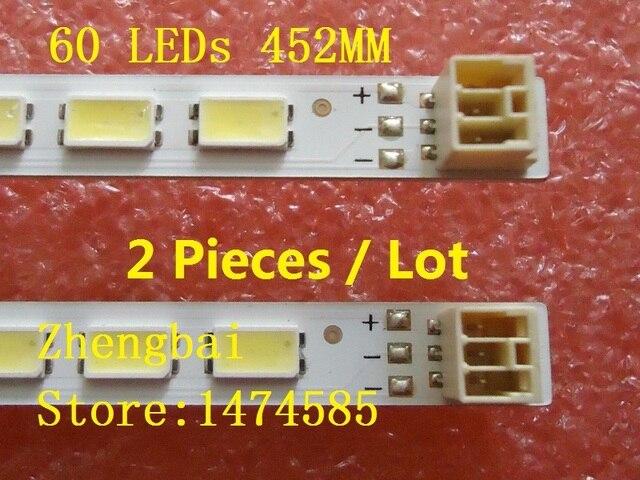 10 أجزاء/وحدة LED شريط إضاءة خلفي لشارب LC 40LE511 40BL702B LE4050b LE4052A LE4050 LE4052 LJ64 03567A LJ64 03029A LTA400HM08