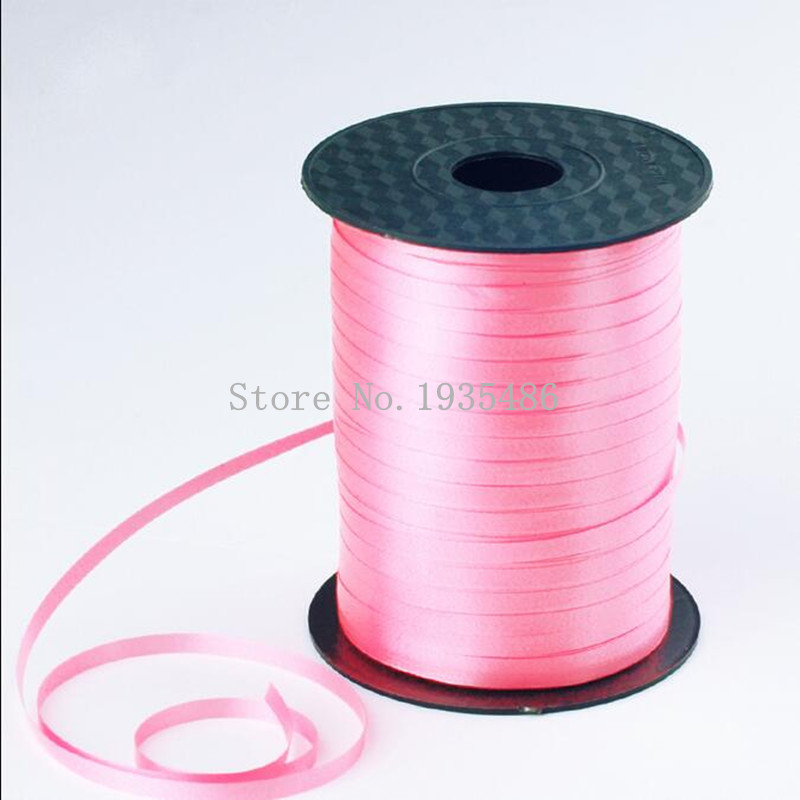 Hot sale High Quality 450 m 4mm 500yards Balloons Ribbon for Wedding Party Birth