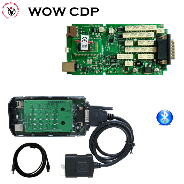 snooper obd  Single Board WOW CDP Snooper OBD obdII scanner 5.008R2 with keygen ...