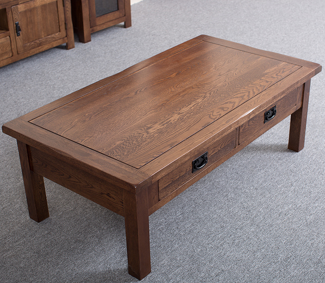 Country Oaks Apartments: American Country Of Pure Solid Wood Coffee Table White Oak