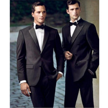 Custom Made Men Wedding Suits Groom suits Tuxedos Business suits handsome prom suits (Jacket+Pants )