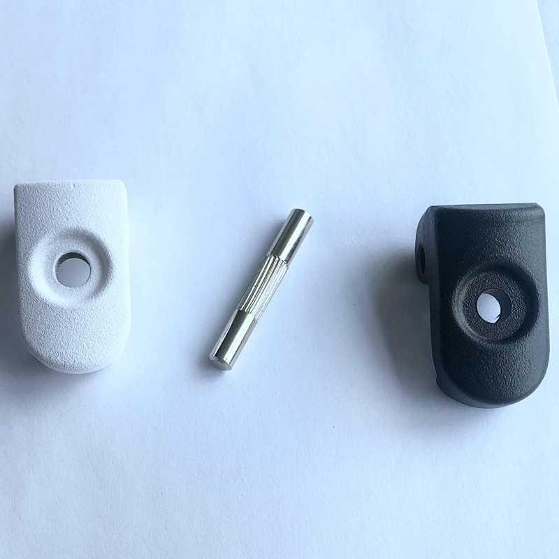 Super ขาย-บานพับ Bolt Repair เหล็กล็อคสลักเกลียวสกรูพับตะขอสำหรับ Xiaomi Mijia M365 อะไหล่สกูตเตอร์ m365 พับ