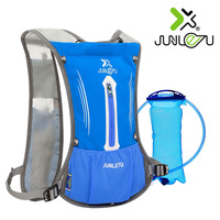 Running Bag Optional Bottle Outdoor Sport Backpack Marathon Trail Running Hydration Vest Pack for 2L Water Bag Cycling Hiking