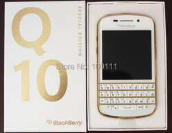 Q10  Original BlackBerry Q10 4G 3.1'' Dual core,Qwerty,Built-in 16GBROM,8MP free fast shipping