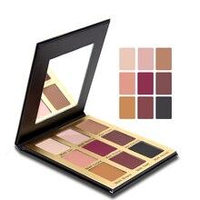 9 Colors Matte Eye Shadow Make Up Set Pallete Eyeshadow Glow Kit Beauty Eyeshadow Cosmetic