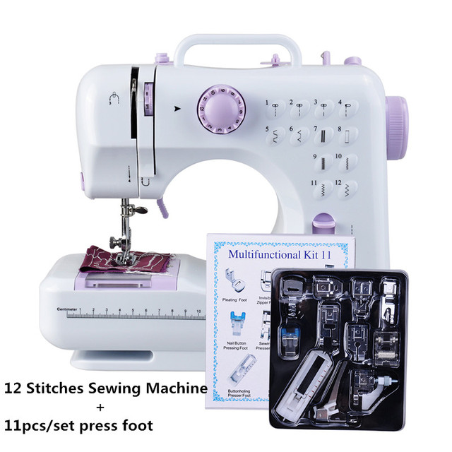 Fanghua Multifunction Mini Sewing Machine 40A 40 Stitches Classy Mini Sewing Machine