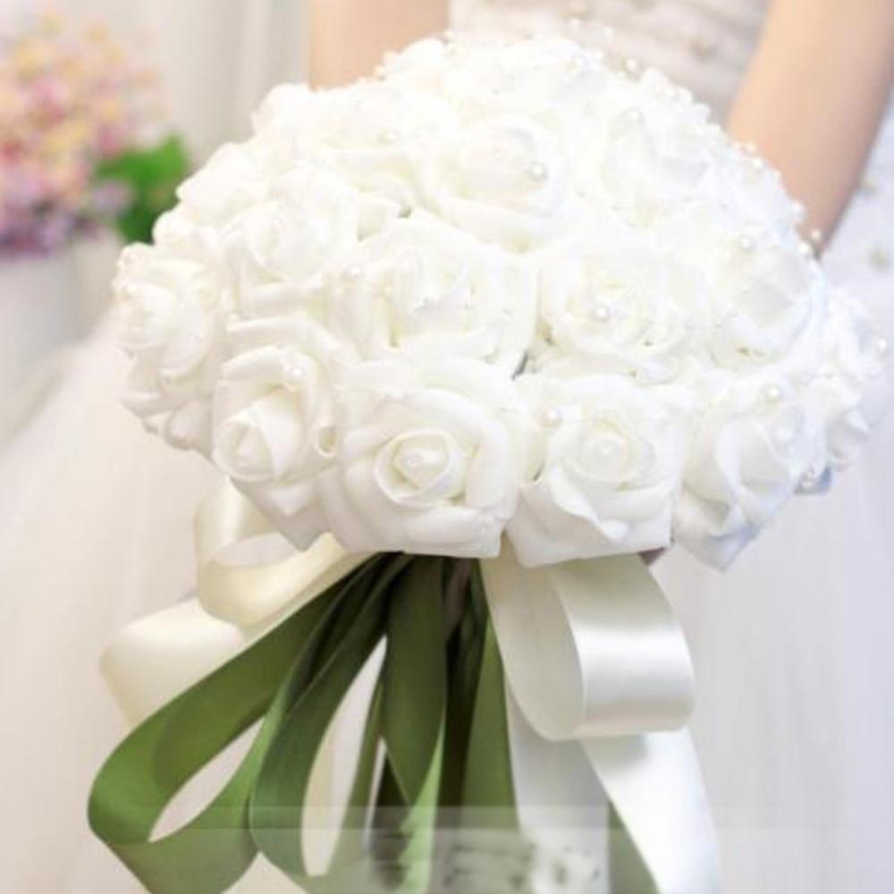 Korean Wedding Flowers: Korean Wedding Bride Holding Flowers Simulation Holding