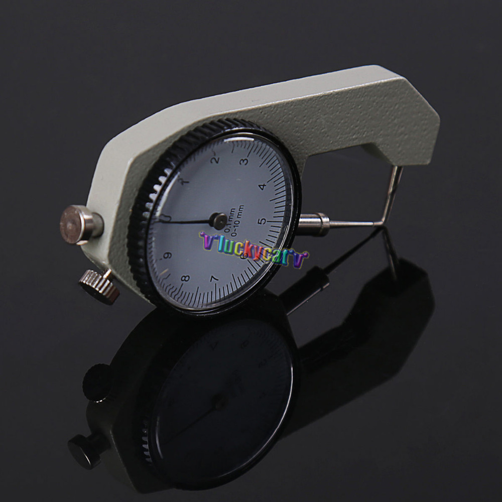 Dental lab Surgical Endodontic Gauge Dial Caliper Instruments w/Meter Tool trendy letter heart round rhinestone bracelet for women