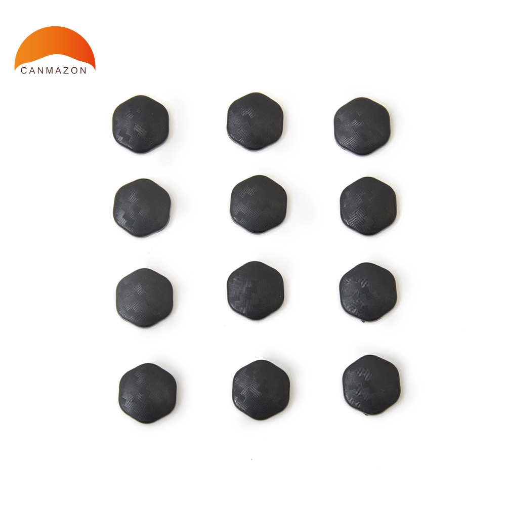 For Nissan Qashqai X-trail Sylphy Juke Murano Versa Sunny Teana Altima Car Door Lock Screw Protector Cover Accessories 12pcs