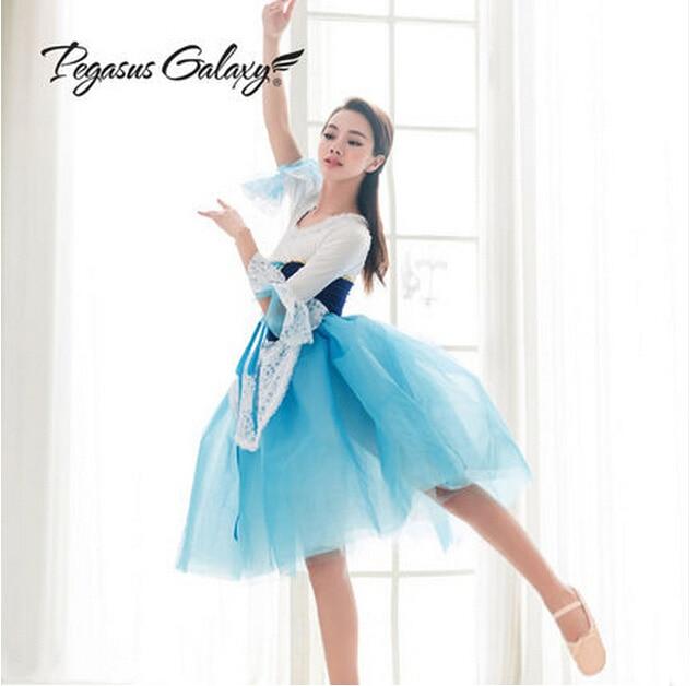 3f4ad7d8d Online Shop Lace Half Sleeved Dancing Dress Kids Classical Ballet ...